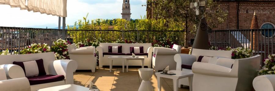 Restaurant Due Torri Hotel Luxury 5 Stars Hotel