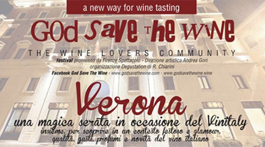 God Save The Wine al Due Torri Hotel a Verona - Vinitaly