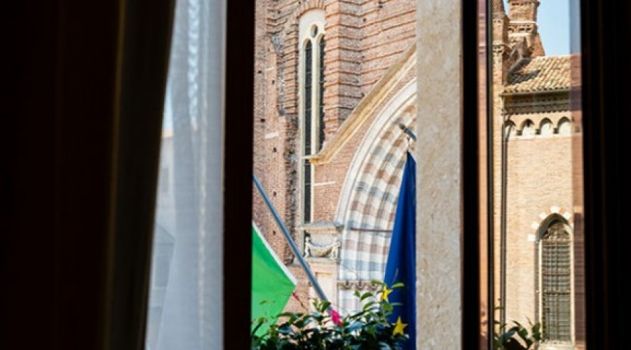 La vista da una delle finestre delle nostre suite