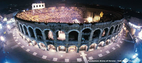 Opera Package Arena of Verona Italy Leading Arts and Culture